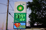 """Description: Plano, IL Gas Station welcoming Smallville filming. <br /> <br /> Media: Photo<br /> <br /> Copyright: Gregory Zonsius<br /> Attribution: To use or link to this media you must include """"Courtesy of <a href=""""mailto:greg@zoncom.com/"""">Gregory Zonsius</a> 