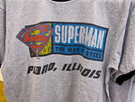 "Description: Plano, IL Gas Station selling ""Man of Steel"" paraphernalia. <br /> <br /> Media: Photo<br /> <br /> Copyright: Gregory Zonsius<br /> Attribution: To use or link to this media you must include ""Courtesy of <a href=""mailto:greg@zoncom.com/"">Gregory Zonsius</a> 