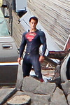 "Description: Henry Cavill as Superman in Smallville (Set) <br /> <br /> Media: Photo<br /> <br /> Copyright: Gregory Zonsius<br /> Attribution: To use or link to this media you must include ""Courtesy of <a href=""mailto:greg@zoncom.com/"">Gregory Zonsius</a> 