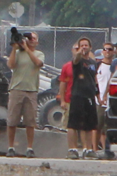 "Description: Director Zack Snyder on the Smallville (Set) <br /> <br /> Media: Photo<br /> <br /> Copyright: Gregory Zonsius<br /> Attribution: To use or link to this media you must include ""Courtesy of <a href=""mailto:greg@zoncom.com/"">Gregory Zonsius</a> 