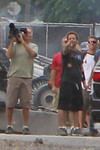 """Description: Director Zack Snyder on the Smallville (Set) <br /> <br /> Media: Photo<br /> <br /> Copyright: Gregory Zonsius<br /> Attribution: To use or link to this media you must include """"Courtesy of <a href=""""mailto:greg@zoncom.com/"""">Gregory Zonsius</a> 