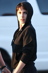 "Description: Antje Traue (Faora) hot off the set of ""Man of Steel"" <br /> <br /> Media: Photo<br /> <br /> Copyright: Gregory Zonsius<br /> Attribution: To use or link to this media you must include ""Courtesy of <a href=""mailto:greg@zoncom.com/"">Gregory Zonsius</a> 