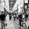 Fujifilm neopan pro 400 - Tanuki Koji at Sapporo, vibrant nightlife