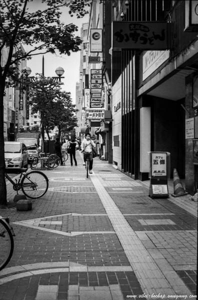 Fujifilm neopan pro 400 - Streets of Susukino