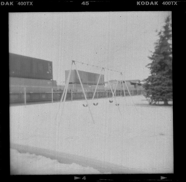Swingset.  Laramie, WY
