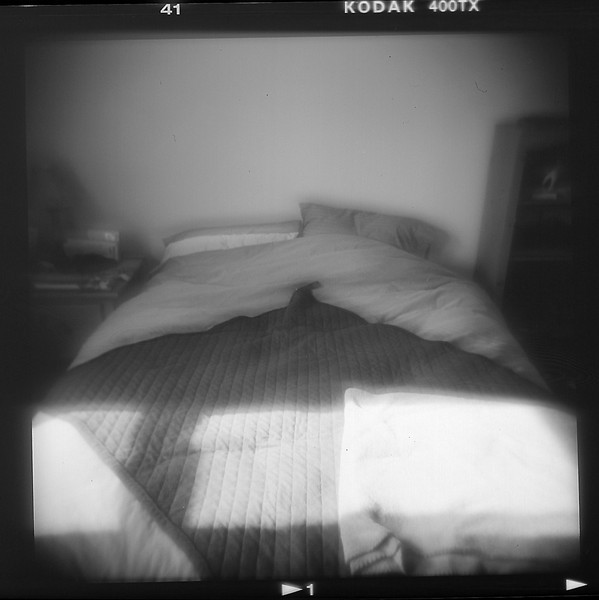 My bed.