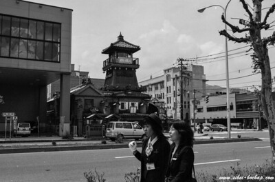 Ilford 400 - Famous hokkaido snack also has it's own tower