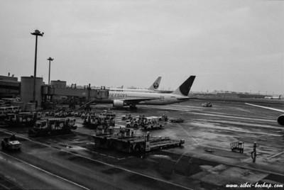 ilford 400 - narita airport