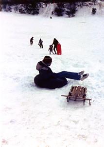 1987 12 05 - Sledding at Timberline Park 011