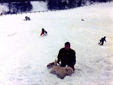 1987 12 05 - Sledding at Timberline Park 005