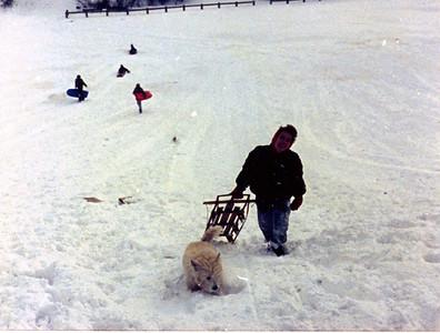 1987 12 05 - Sledding at Timberline Park 001