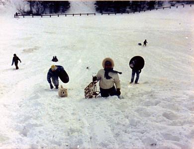 1987 12 05 - Sledding at Timberline Park 002