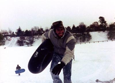 1987 12 05 - Sledding at Timberline Park 009