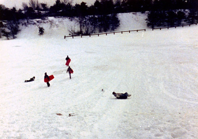 1987 12 05 - Sledding at Timberline Park 006