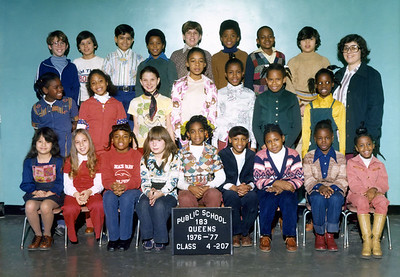A photo from my youth.  I'm on the top row 3rd from the left.  Can you believe I actually picked that shirt out myself!!