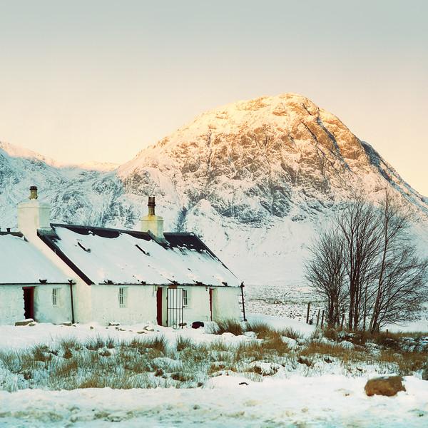 Blackrock Cottage in Glen Coe (CineStill 50D Film)