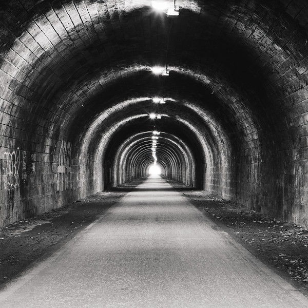 The Innocent Railway Tunnel (Ilford Delta Pro 100 Film)