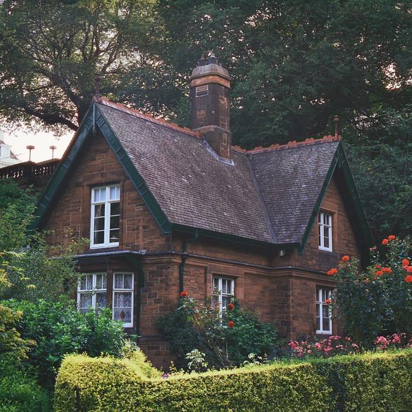 The Gardener's Cottage (CineStill 50D Film)