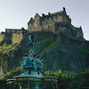 Early Morning Light Over Edinburgh Castle (CineStill 50D Film)