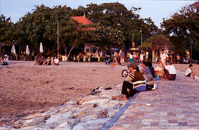 Portra iso 400 (color) - beach scene in bali