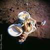 Leftover remains of breakfast while camping alongside the Colorado River - August 3, 2010