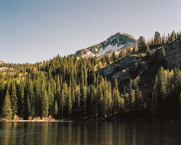 Sunset at Silver Lake