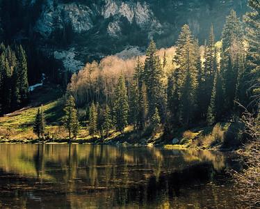 Silver Lake at Sunset #2