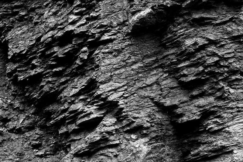 Rock face, Clucultz Lake N. of Prince George