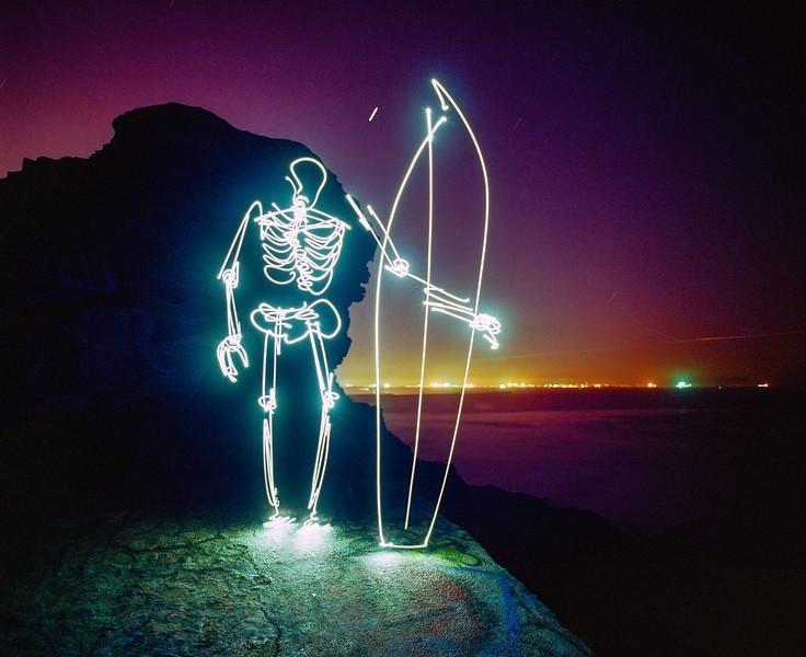 Surfing Skeleton