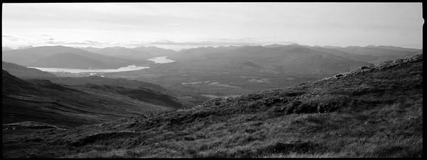 The Highlands from Ben Nevis