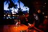 Dinner at the Beach House, Poipu<br /> Fujichrome Provia 400X