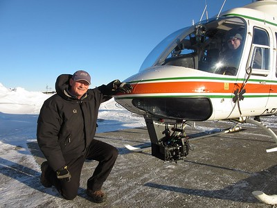 Jeff -  pilot - Universal Helicopters Gander