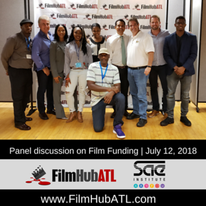Panel Discussion of Film Funding July 12-2018