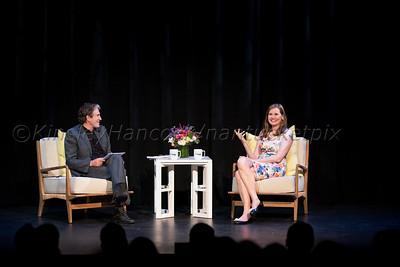 Geena Davis interviewed by John Shea, Dreamland Theater, Nantucket, MA July 11, 2015