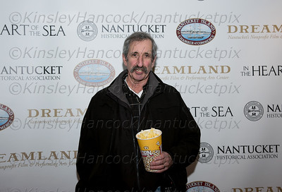 "The Nantucket Historical Association and Dreamland Theater opening of ""In the Heart of the Sea"", the film based on the novel by Nantucket author, Nathaniel Philbrick, December 9, 2015"