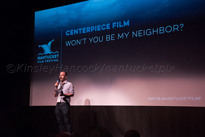 Nantucket Film Festival, Won't You Be My Neighbor, Mr. Rogers documentary by Morgan Neville, Dreamland Theater, Nantucket, Massachusetts, June 22, 2018