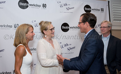 "Theatre Workshop of Nantucket presents ""On With the Show: A 60th Anniversary Cabaret featuring Meryl Streep with John Shea & Joe Grifasi"", Nantucket Hotel & Resort, Nantucket, MA July 30, 2016"