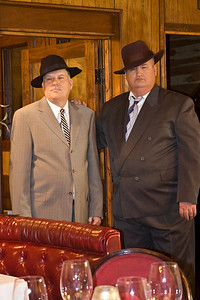 Left:  Grover J. Taylor (Detective Sam Gower) and  right:  Jim Waters (Detective Robert Wilcox