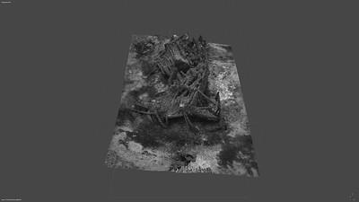3D Modell Animation vertikal