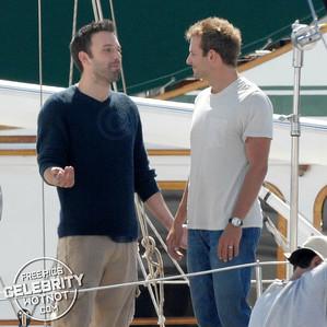 Ben Affleck and Bradley Cooper Look Like Great Shipmates! LA