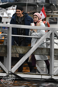 "Lucy Hale Holds Hands With ""Brother� Jayson Blair Filming Life Sentence"