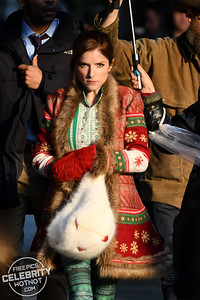 Kendrick At Christmas! Anna Kendrick Plays Santa Claus' Daughter!