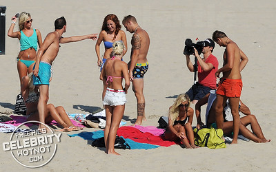 "EXCLUSIVE: French Show ""Les Ch'tis a Hollywood"" Film Funny + Romantic Bikini-clad Scenes"