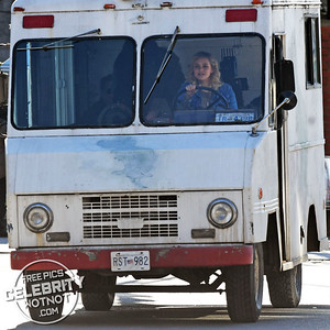 Katherine Langford Goes From Ice Cream Truck Driver To Drenched In Blood!