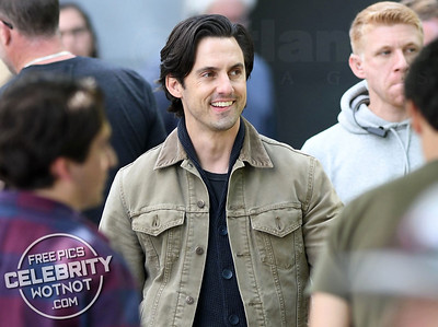 Milo Ventimiglia Films The Art of Racing in the Rain in Vancouver, Canada