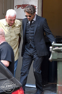 It's The Swedish Touch for Johnny Depp On Set Of The Professor!