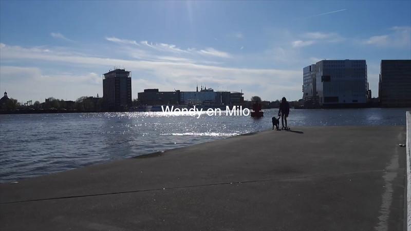 wendy en Milo IJ oever
