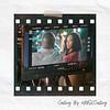 "Chaz Lamar Shepherd and Demetria McKinney on set of ""A Gospel Christmas"""