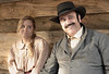 production photo, Heather Clark as Willa and Dave Long as Major Dodds... quite the charming couple.