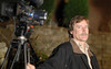 production photo, camera operator Jim Williams
